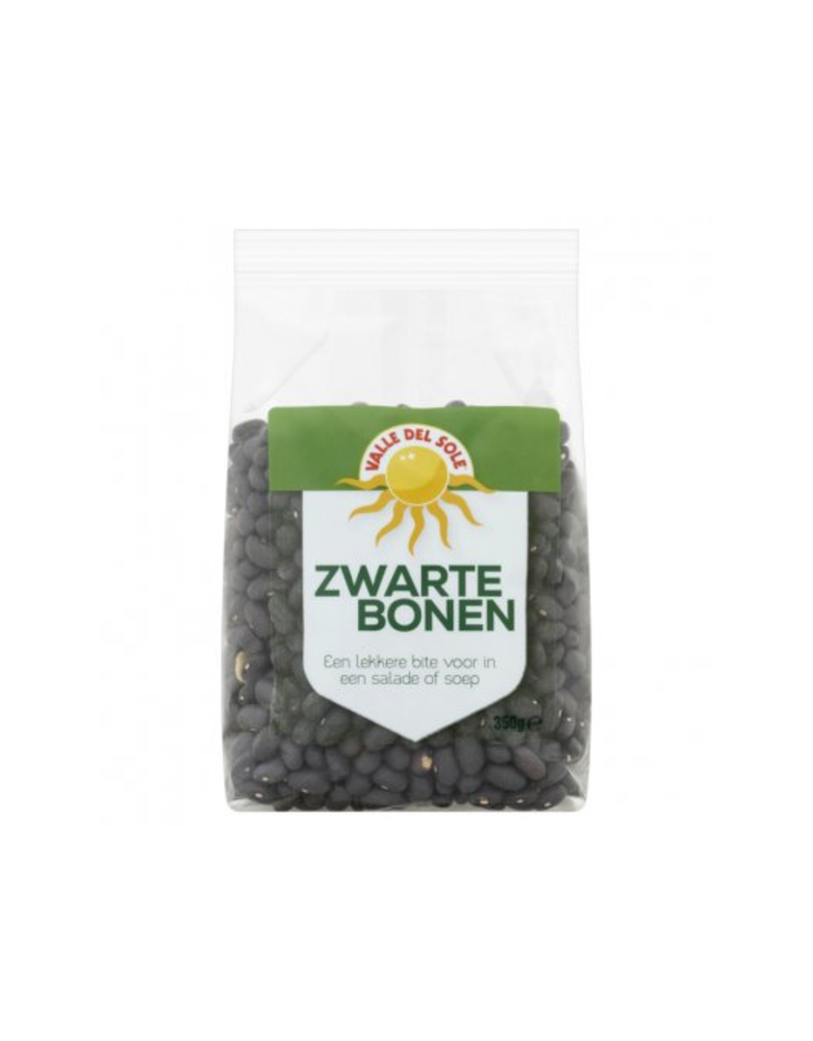 Valle del Sole Black Turtle Beans Zwarte Bonen 350gr