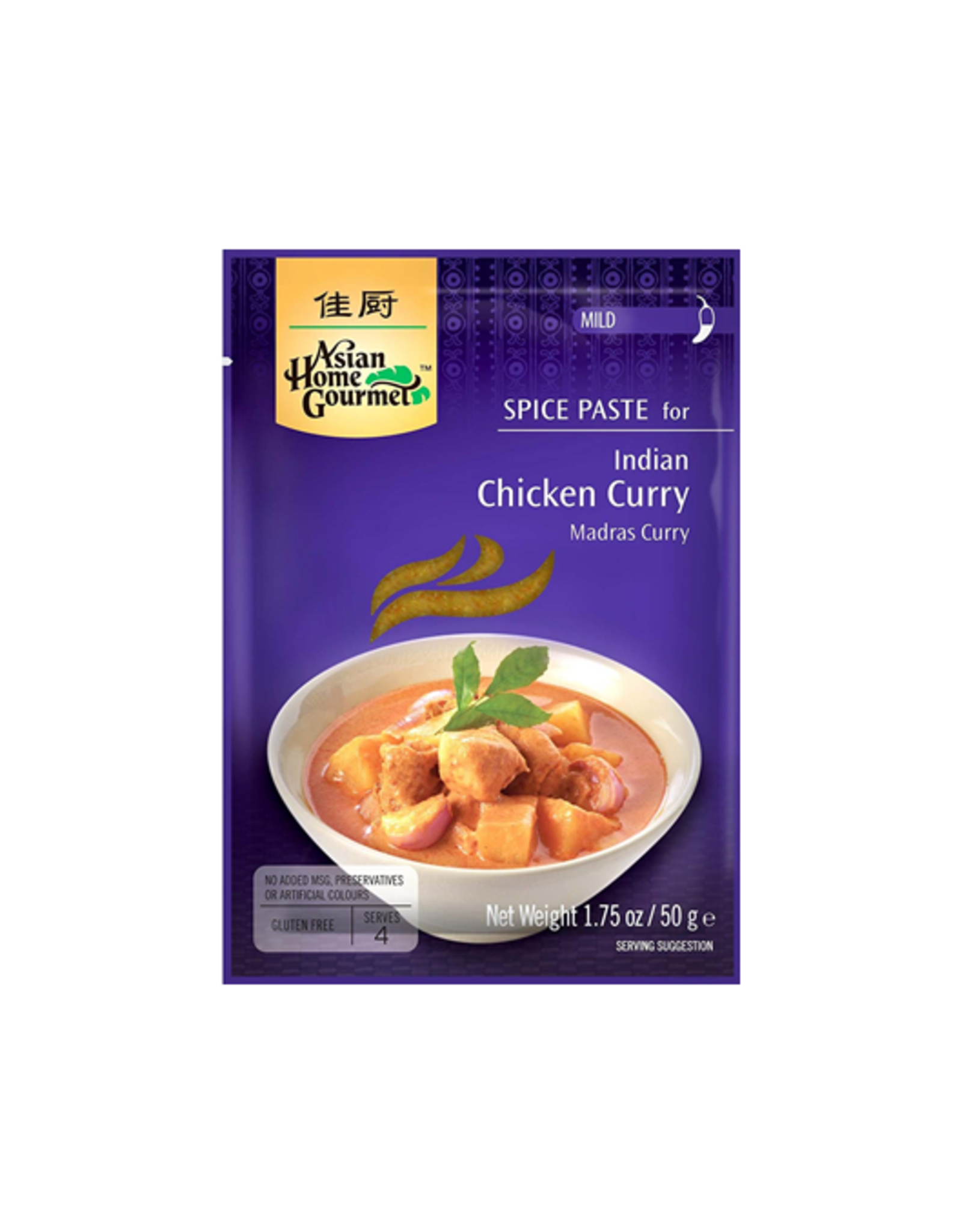 Asian Home Gourmet Indian Chicken Curry