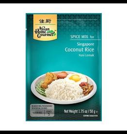 Asian Home Gourmet Singapore Coconut Rice