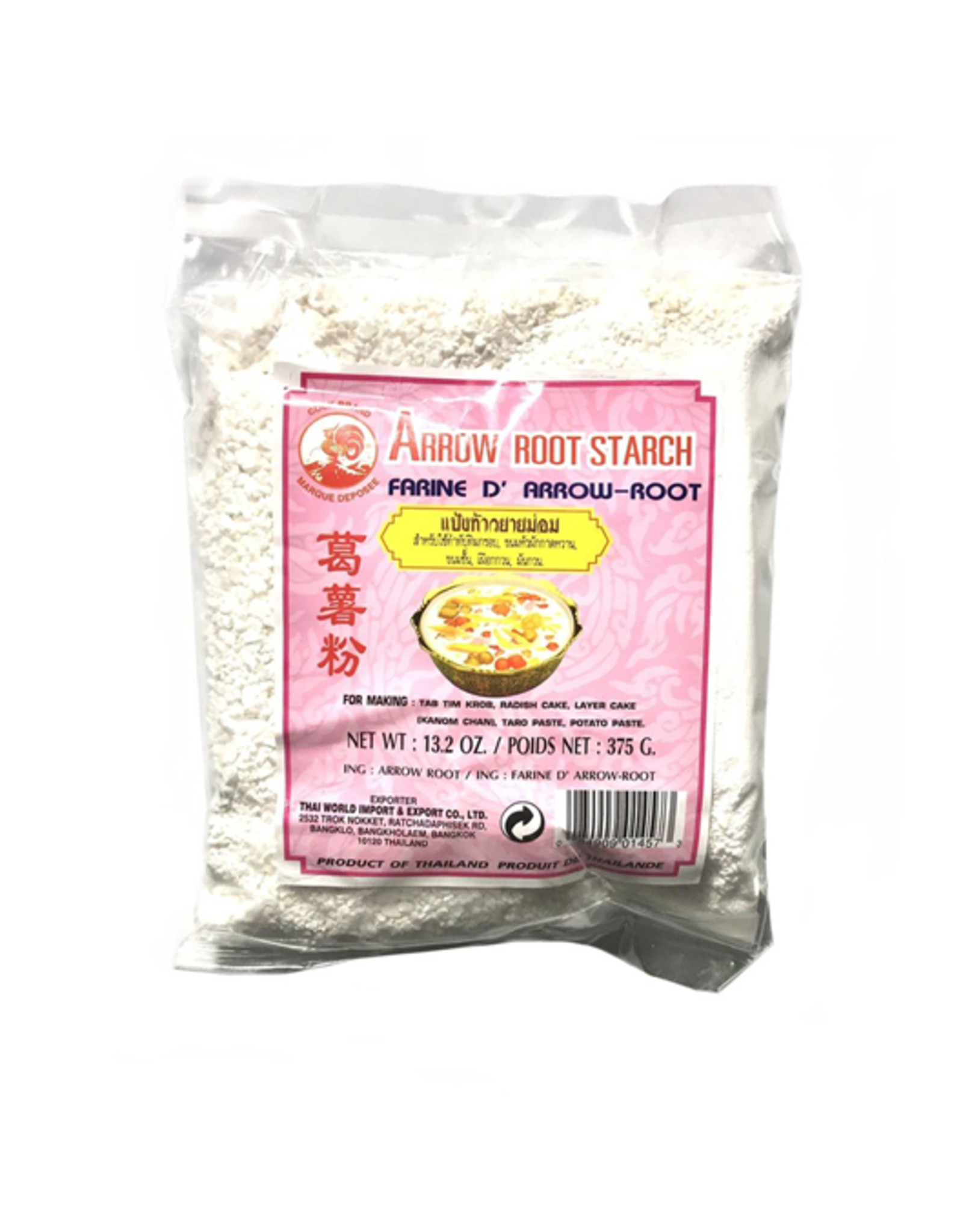 Cock Brand Arrow Root Starch