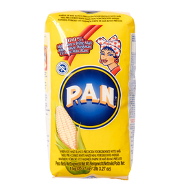 P.A.N. Witte Maismeel voorgekookt