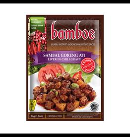 Boemboe Bambu Sambal goreng Ati