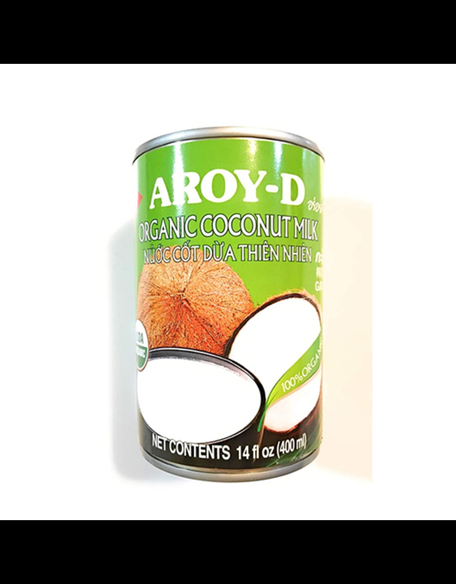 Aroy-D Kokosmelk Biologisch 400ml