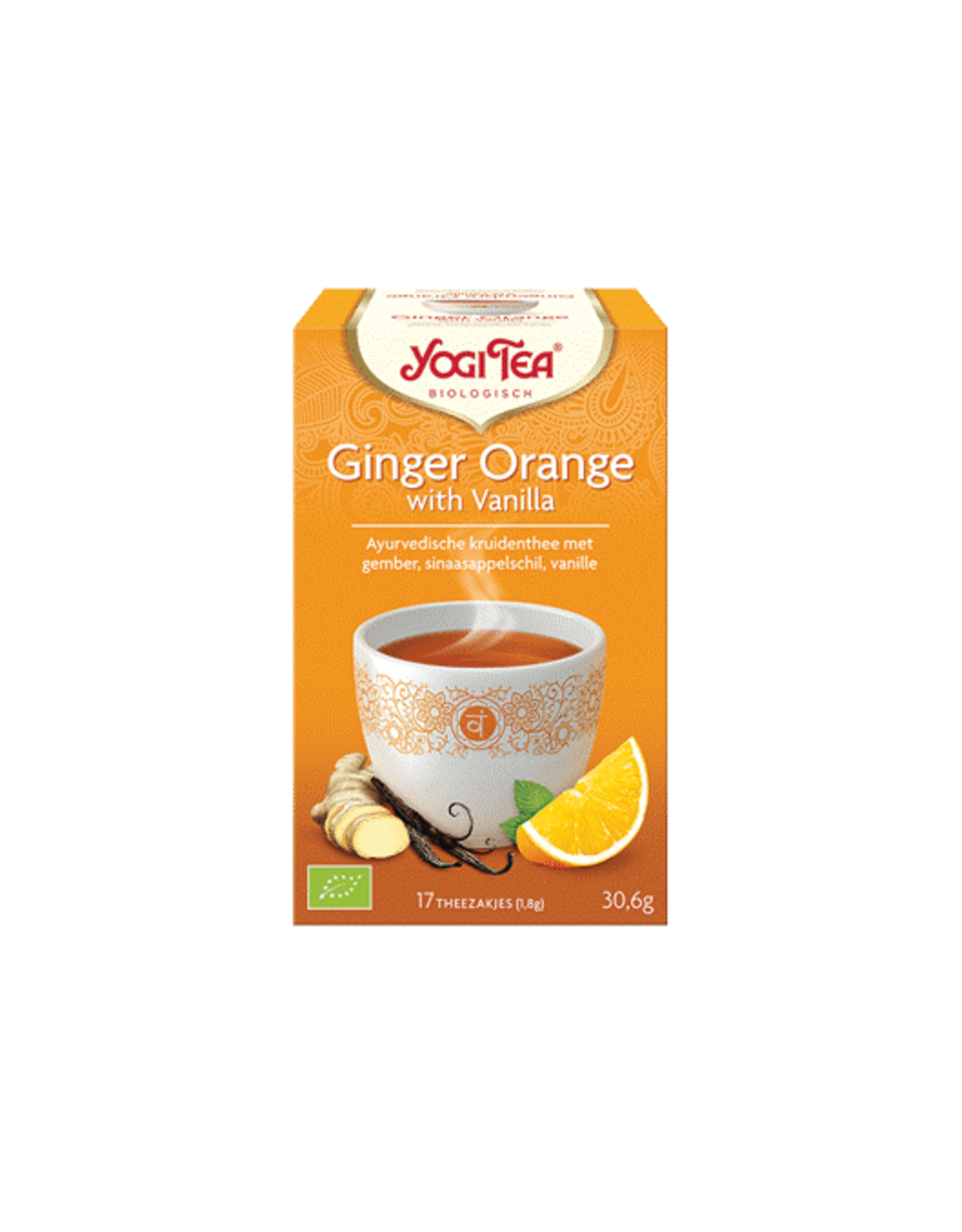 Yogi Tea Ginger Orange