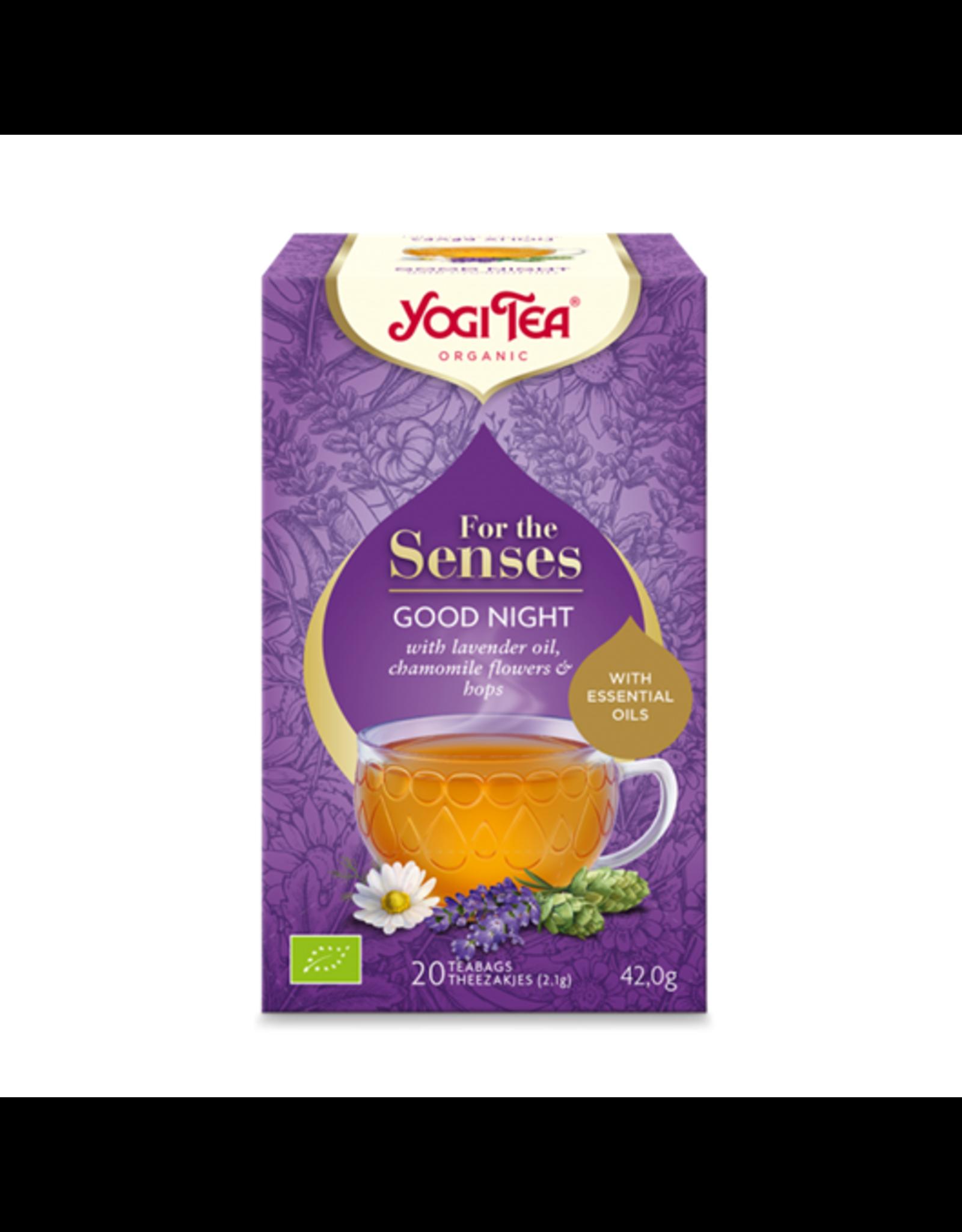 Yogi Tea For the Senses Good Night