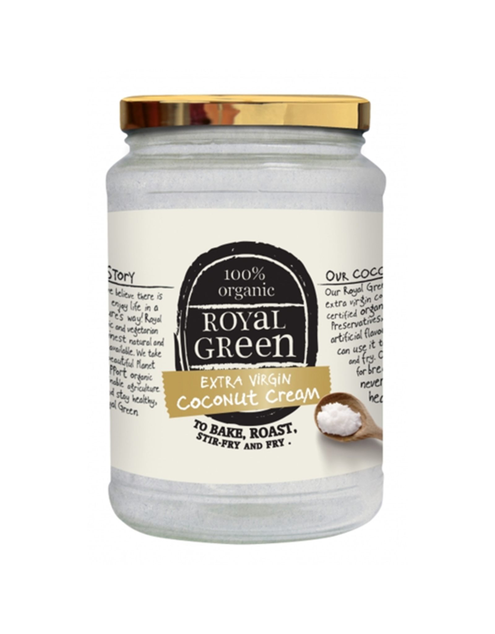Royal Green Coconut Cream Bio