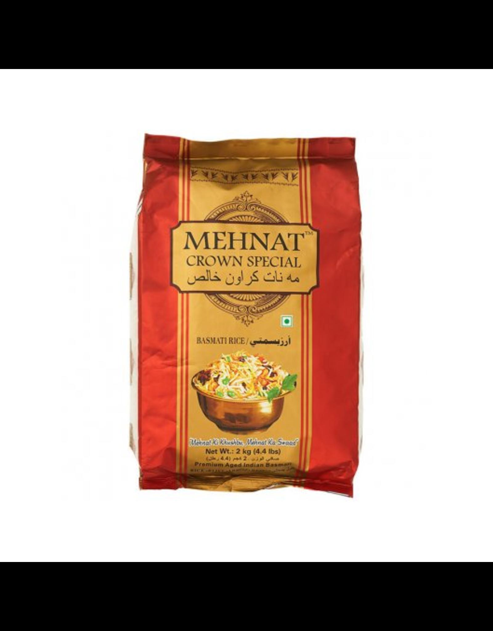 Mehnat Crown Basmati Rijst