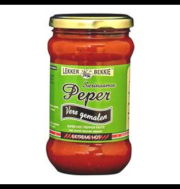 Lekker Bekkie Surinaamse Peper Vers gemalen