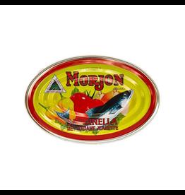 Morjon Brand Sardines in Tomatensaus met Madam Jeanette