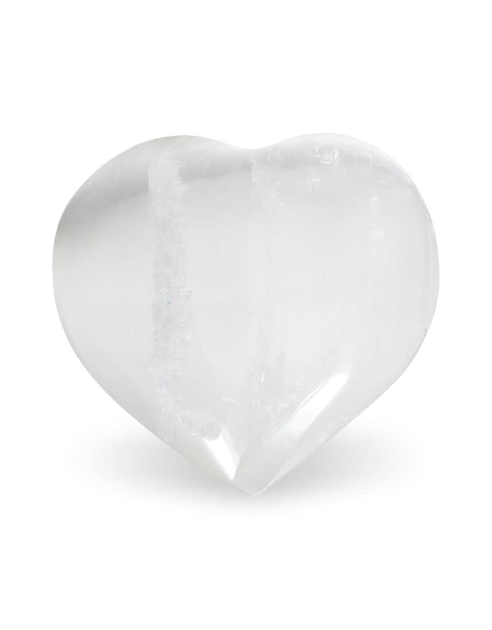 Knuffelsteen Seleniet wit