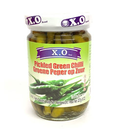 X.O. Brand Pickeled Green Chillies