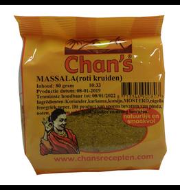 Chan's Massala Roti Kruiden