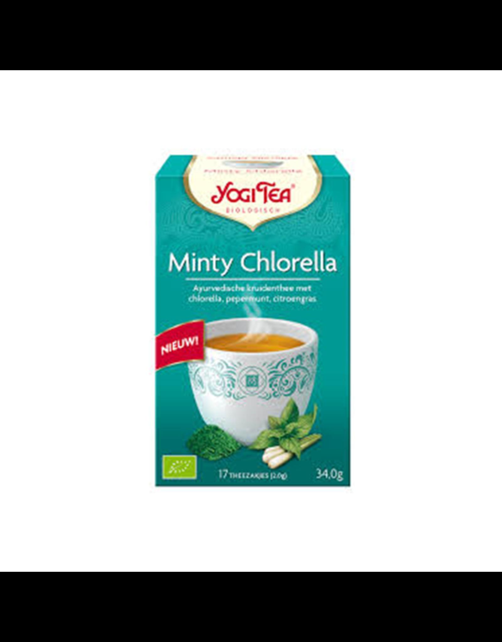 Yogi Tea Minty Chlorella