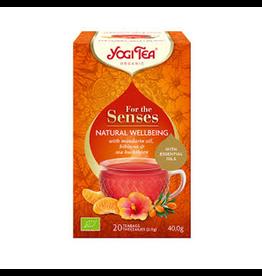 Yogi Tea For the Senses Natural Wellbeing