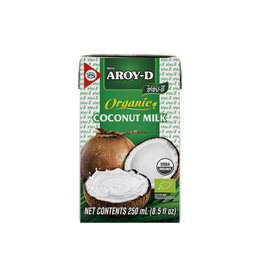 Aroy-D Kokosmelk Biologisch 250ml