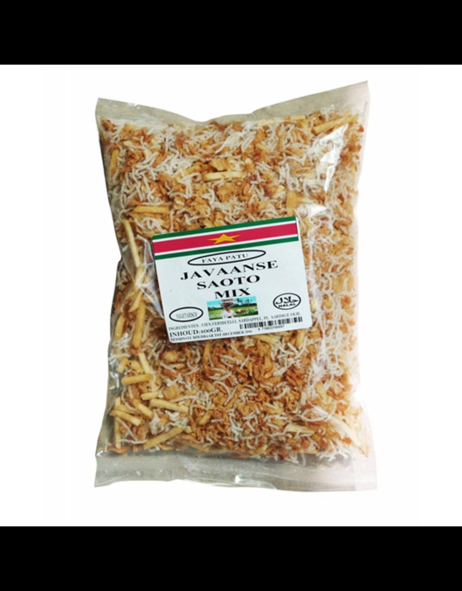 Faya Patu Javaanse Saoto Mix