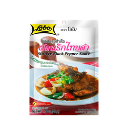 Lobo Stir-Fry Black Pepper
