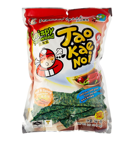 Tao Kae Noi Crispy Seaweed Spicy Value Package