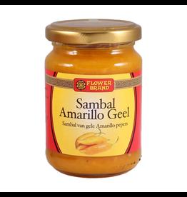 Flower Brand Sambal Amarillo geel
