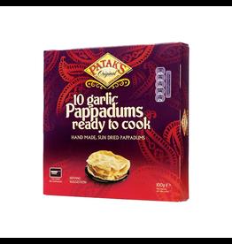 Patak's Pappadums Garlic