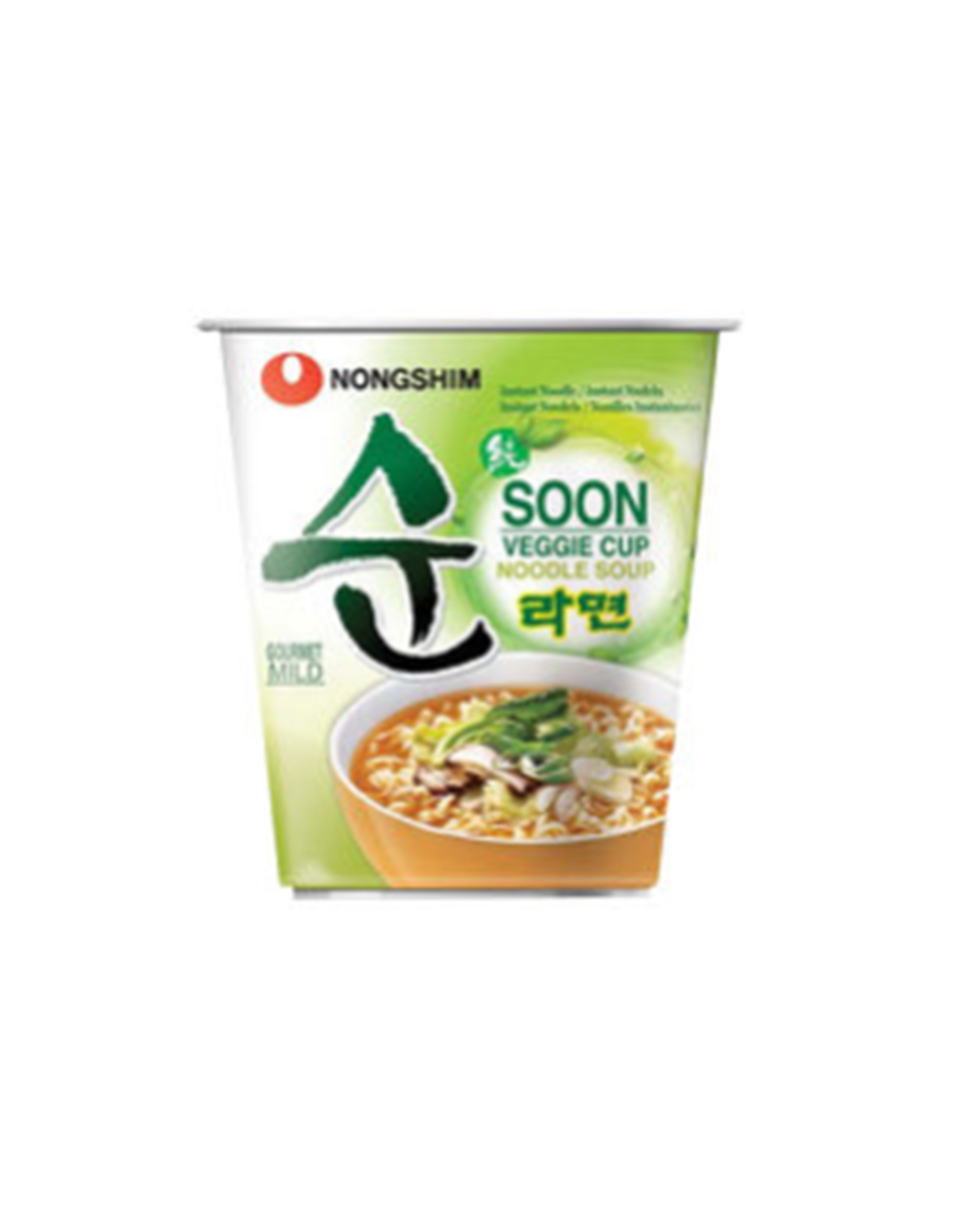 Nongshim Ramyung Soon Veggie Cup