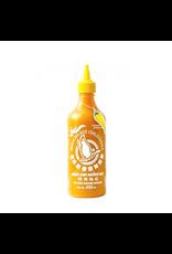 Flying Goose Brand Sriracha Hot Yellow Chili sauce