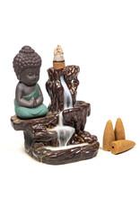 Backflow Waterval Kleine Buddha Wierookbrander