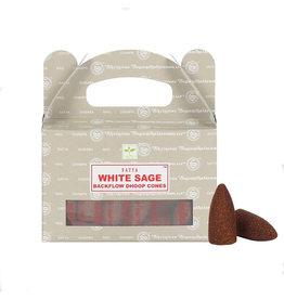 White Sage Backflow Dhoop Cones