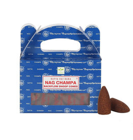 Satya Backflow Nag Champa Dhoop Cones