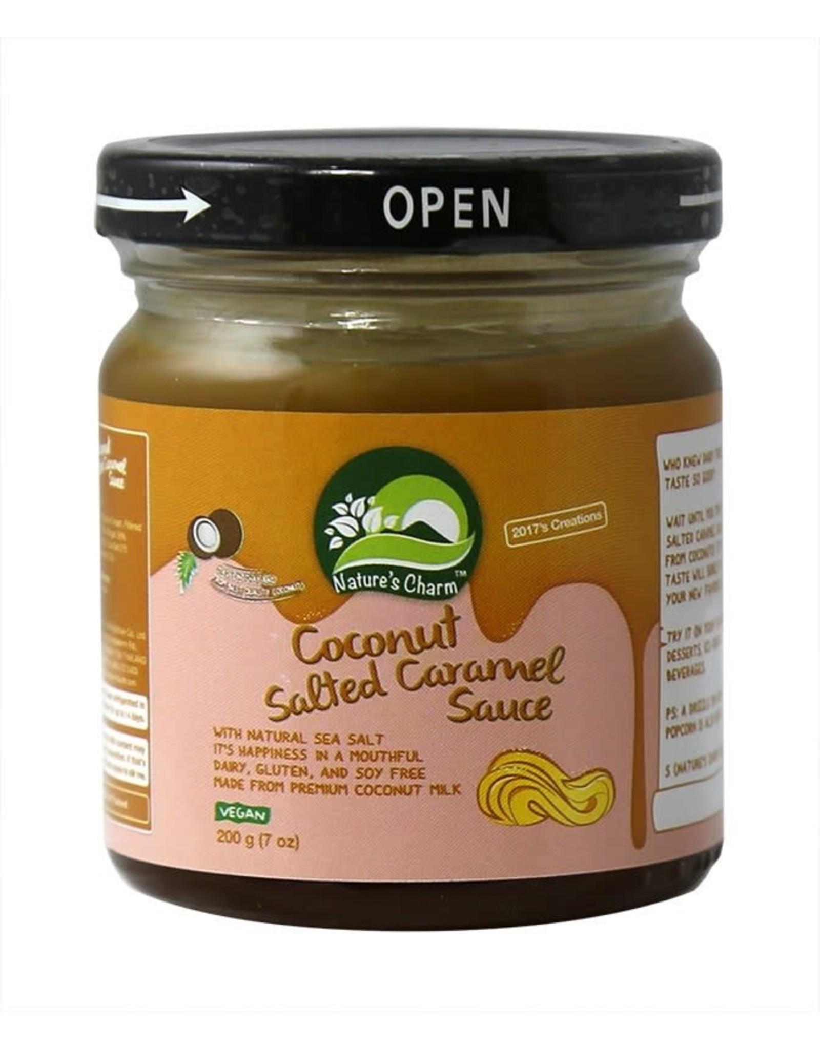 Nature's Charm Coconut Salted Chocolade Fudge Sauce