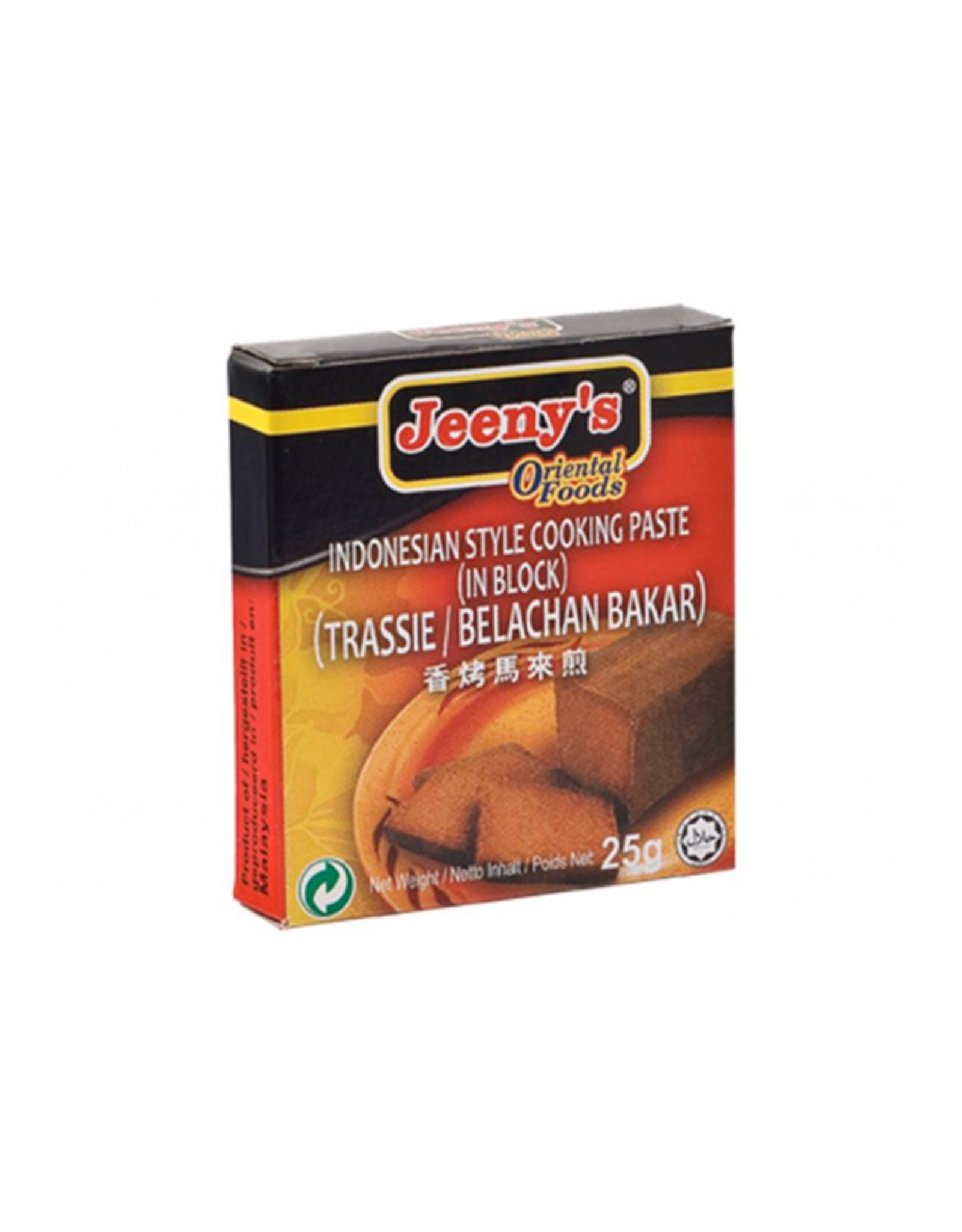 Jeeny's Trassie Belachan Bakar
