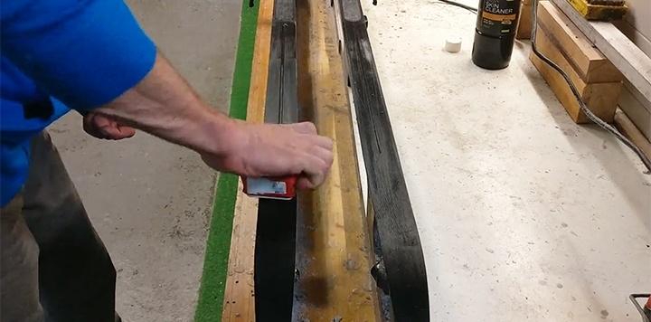 Warme Wax Methode