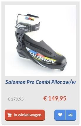 Salomon Pro Combi Pilot zw/w