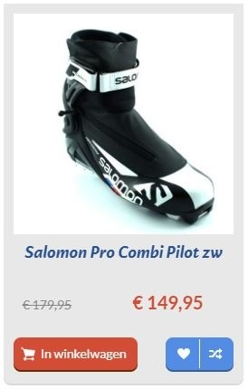 Salomon Pro Combi Pilot zw schoen