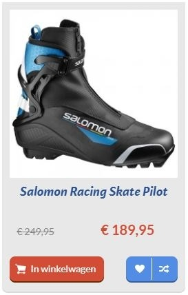 Salomon Racing Skate Pilot