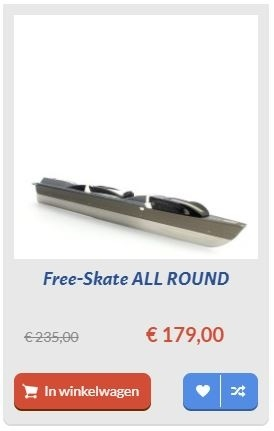 free skate all round schaats