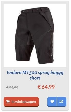 endura mt500 spray baggy