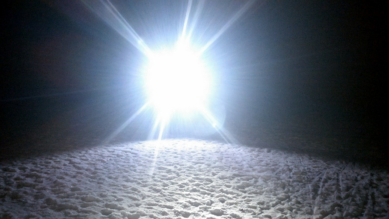 Langlauf hoofdlamp