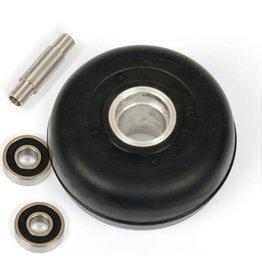 Marwe Wiel rubber 6S0 sk/combi incl asje en lagers