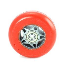 Skiskett Fire Wiel Pu rood plastic kern