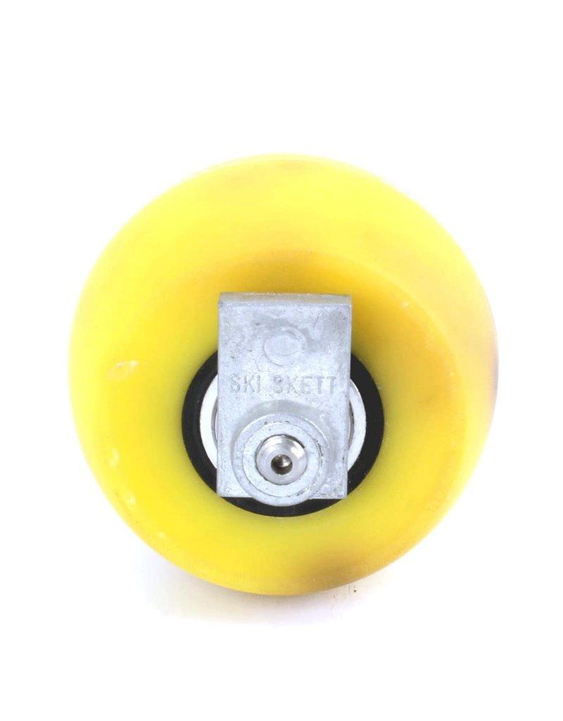 Skiskett Bull Pu achterwiel met blokkering