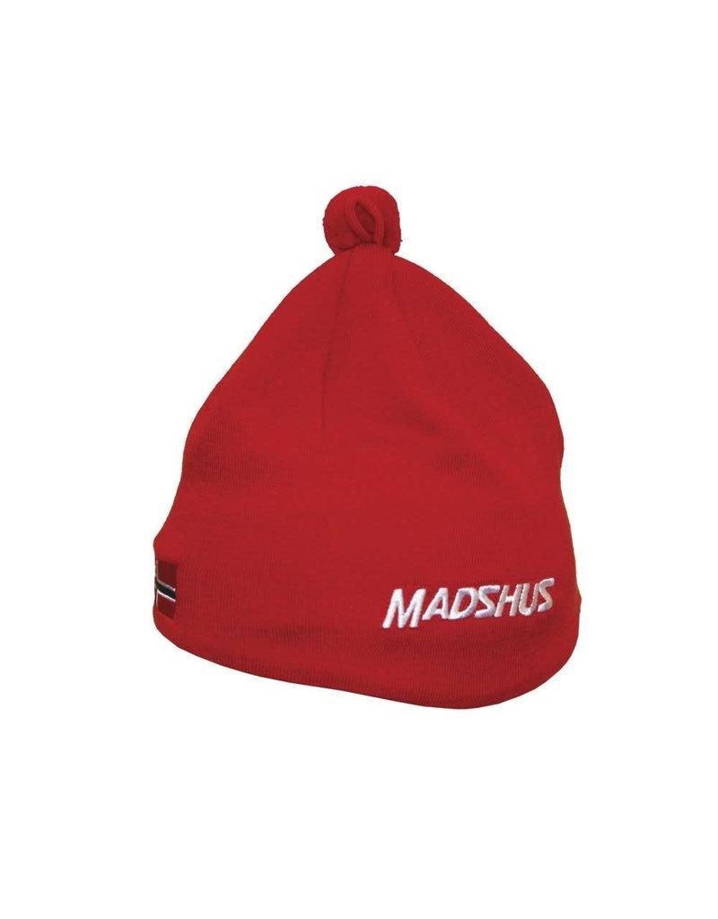 Madshus Ski hat rood
