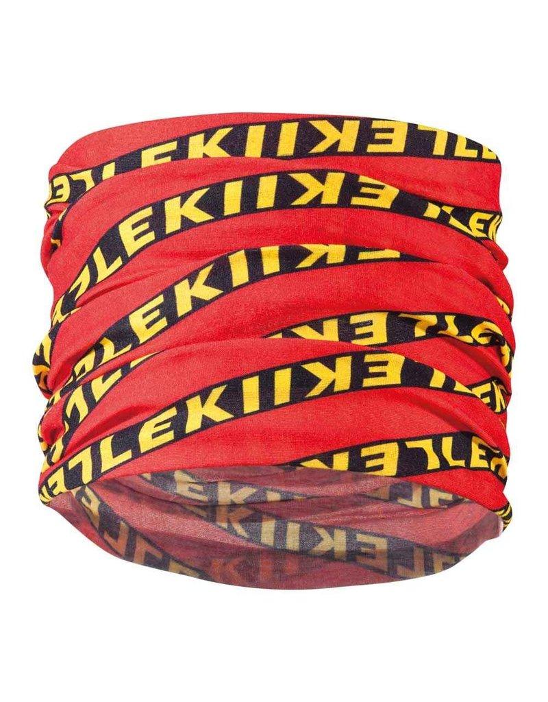 Leki Buff rood/zwart/geel