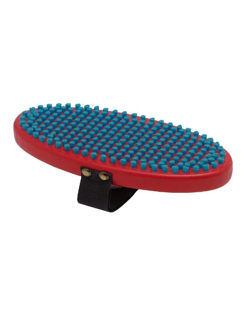 Swix Borstel nylon ovaal kort blauw