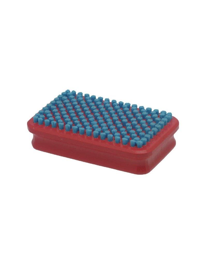Swix Borstel nylon kort blauw