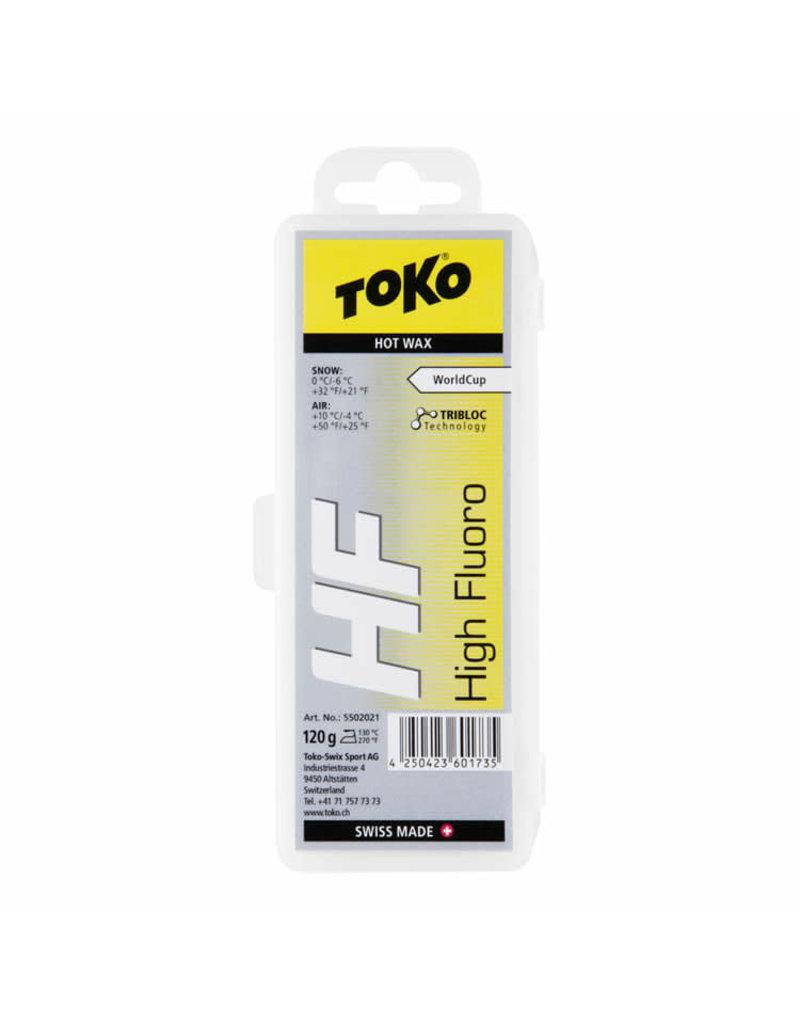 Toko Glijwax Hotwax HF geel