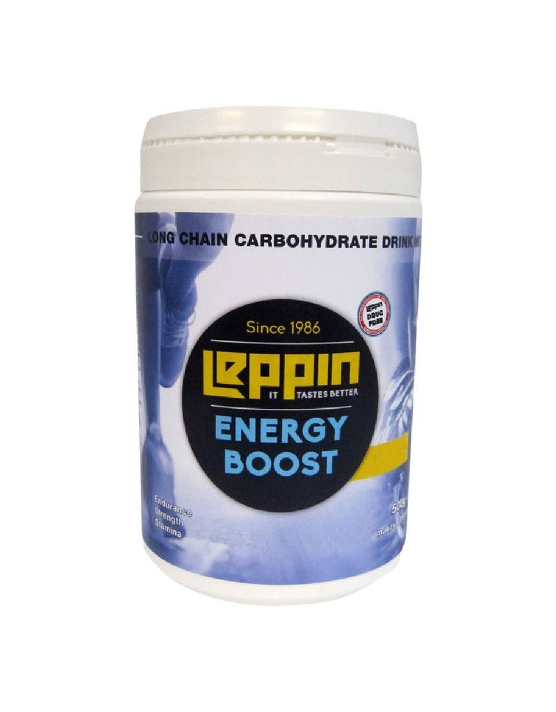 Leppin Energiedrank pot 500gr orange