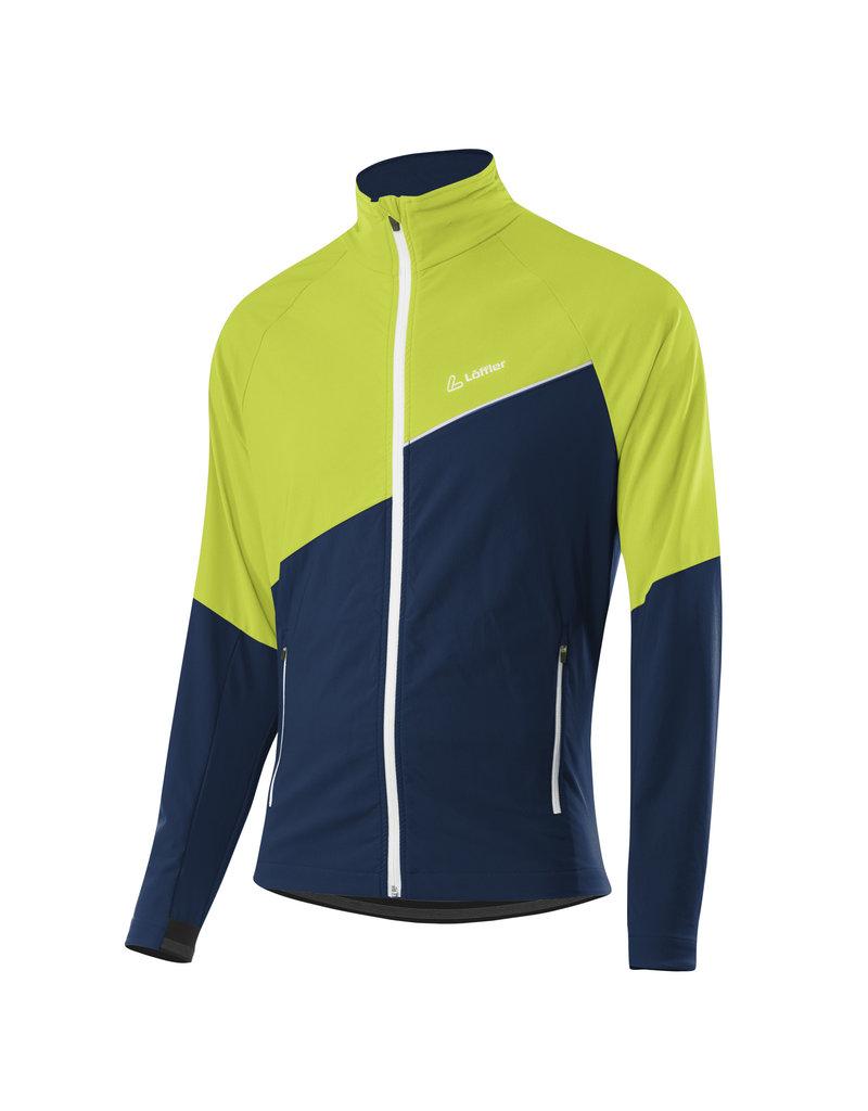 Loeffler Jacket Aero AS groen blauw