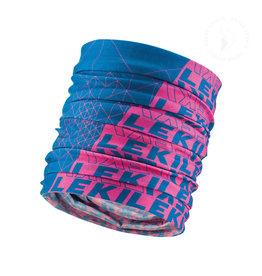 Leki Buff blauw/roze