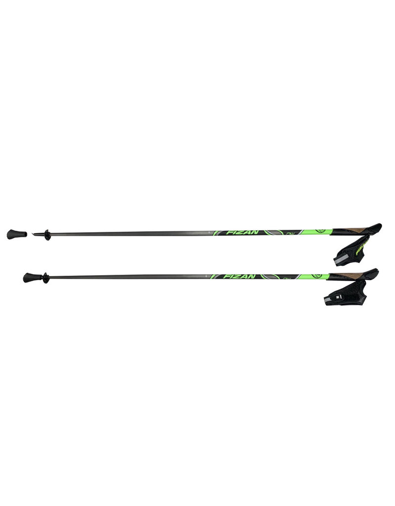 Fizan Nordic stok Runner carbon - green